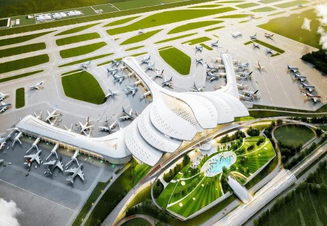Sân bay Long Thành là hạ tầng giao thông thuận lợi cho bất động sản nghỉ dưỡng Bà Rịa Vũng Tàu