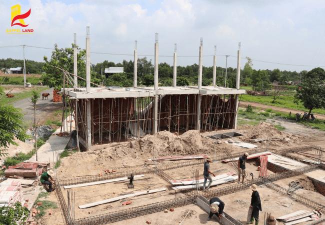 Tiến độ thi công dự án khu dân cư Phan Gia