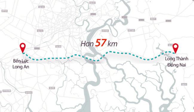 Tuyến đường Bến Lức - Long Thành